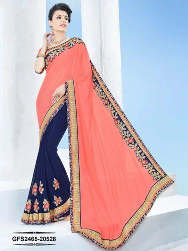 74c4fe39c Bridal Wear Galaxy 18 Beautiful Design And Border Sarees
