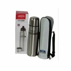Silver Milton Thermosteel Water Bottle for Office