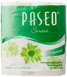 Paseo Tissues Toilet Roll 2 Ply - 200 Pulls (4 Rolls)