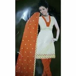 Cotton Semi-Stitched Ladies Designer Salwar Suit
