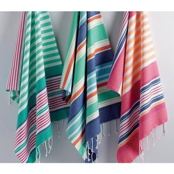 Cotton Yarn Dyed Striped Kikoy Towels