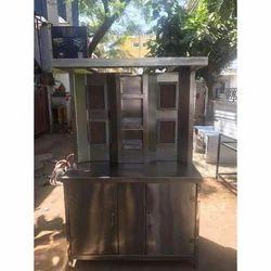 Shawarma Machine Two Burner