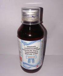 Ambroxol Terbutaline Guaphensin Menthol Syp