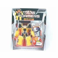 Yellow Plastic Transformers Toys