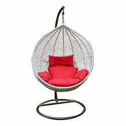 Hanging Swing Chair with Cushion & Hook