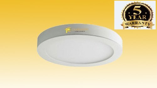 Charismatic Cool White 3 W Round LED Panel Light, 240 V Ac