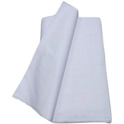 White Plain Addi Kurta Cotton Fabric, GSM: 150-200