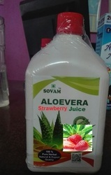 Organic Aloe Vera Strawberry Juice