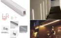 LED And Aluminium Profile Lights A012 - Wall Mounted