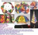 Colorful Rajasthani Umbrella For Navratri Decoration - Wedding Decoration