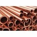 """Indian Round Copper Tubes For General Engineering & Electrical Industries, For Air Condition, Size: 0-1"""""""