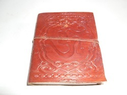 Embossed Handmade Leather Writing Journal