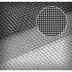 SS Black Coated Mosquito Mesh