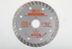 JK 4 Inch Diamond Blade Grantile Cut (Turbo Cutting)