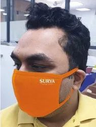 isafe Reusable Printed Earloop Face Mask, Number of Layers: 3 Layers
