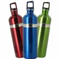 Shivang Enterprises Blue,Green Blue Stainless Steel Water Bottles, Screw Cap