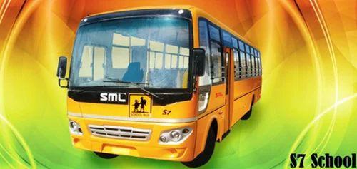 SML S7 School Bus, Sml Bus | Udayarpatti, Tirunelveli