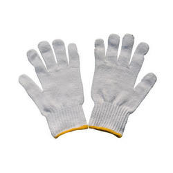 50 GSM Cotton Knitted Gloves