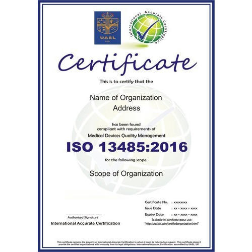 ISO 13485:2016 Certification Consultancy Service in Rohini, Delhi ...