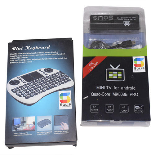 34272896f16 Solis Android TV Box Wireless Keyboard Mouse, एंड्रॉयड ...