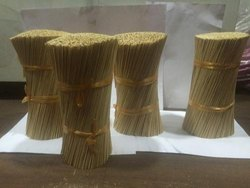 Bamboo Sticks And Agarbatti Powder
