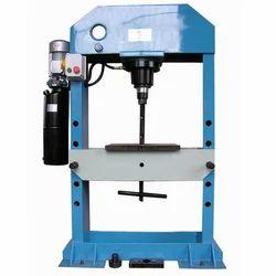 Hydraulic Press Machine, Capacity: 20-40 Ton, Automatic Grade: Semi-Automatic