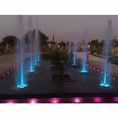 Decorative Dancing Fountain
