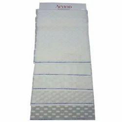 Plain White Cotton Kurta Fabric