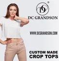 Plain Crop Tops