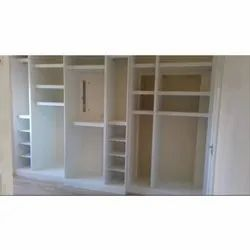 White Pvc Cabinets, Thickness: 5-20 Mm