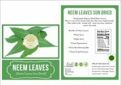 Seekanpalli Organic Neem Leaves Sun Dried 100g