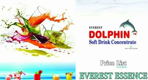 Dolphin Flavours Soft Drink Concentrate, Packaging Type: Carton, Liquid
