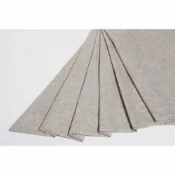 Cotton Polyester Linen look Furnishing Fabric