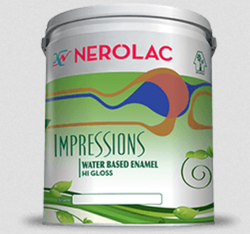 Nerolac Impressions Enamel Paint, Packaging Type: Bucket