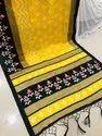 Khadi Silk With Tussels Saree