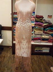 58 Net Long Evening Dress