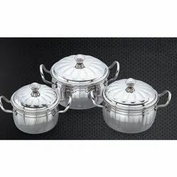 Tomato Stainless Steel Handi Set