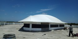 White Atrium Canopy