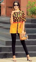 Fancy Rayon & Cotton Kurtis