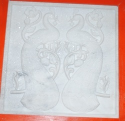 Marble Carved Panel