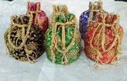 Potli Bags With Heavy Embroidery