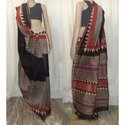 Bagru Silk Saree