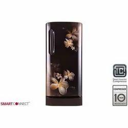 LG Hazel Plumeria GL-D221AHPY Single Door Refrigerator, Capacity: 215 L
