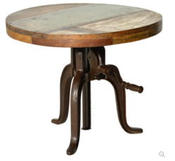 Butler Metalworks Hall pub Crank Table