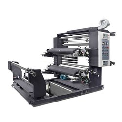 Roll To Roll 2 Color Flexo Printing Machine