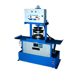 Single Hydraulic Paper Plate Making Machine