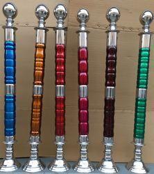 SS Colour Wooden Pillar