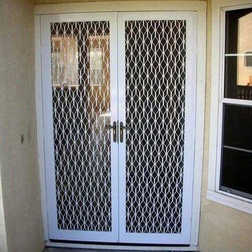 Aluminium Mesh Door Modular Door In Nyanappanahalli Bengaluru Sri Durgamba Industries Id 15269355291