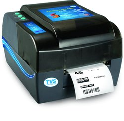 TVS Desktop Barcode & Label Printer, LP 45, Max Print Width: 4 inches