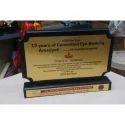 Hospital Certificate Award